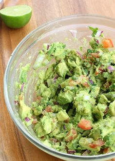 The best Guacamole! Easy and delicious.