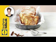 Škoricový trhací chlebík | Adriana Poláková | Kuchyňa Lidla - YouTube Russian Recipes, Lidl, French Toast, Cheese, Breakfast, Cake, Youtube, Polish, Food