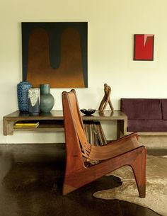 The São Paulo home of Julio Roberto Katinsky is a living, breathing masterpiece of Brazilian modernism: all curves, concrete and creeping vegetation.