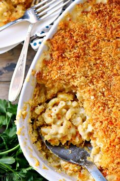 The BEST Homemade Mac and Cheese of your LIFE. Outrageously cheesy, ultra creamy, and topped with a crunchy Panko-Parmesan topping. Definitely a keeper! Homemade Mac And Cheese Recipe Baked, Baked Mac And Cheese Recipe, Macaroni Cheese Recipes, Best Mac And Cheese, Cheesy Recipes, Baked Macaroni, Mac And Cheese Recipe With Bread Crumbs, Traditional Thanksgiving Recipes, Best Thanksgiving Side Dishes