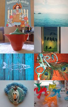 SUNSHINE GARDEN.........................Gratitude Treasury by Pat Peters on Etsy--Pinned with TreasuryPin.com