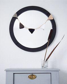 I love everything that´s handmade Interior Decorating, Mirror, Handmade, Jewelry, Hand Made, Jewlery, Jewerly, Mirrors, Schmuck