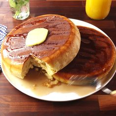 One small step for man, one giant pancake for mankind.