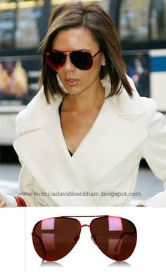 We all fell in love with these red aviators that Victoria Beckham wore with a white Marc Jacobs coat earlier this year.  You will be please...