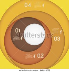 Paper Circle Pattern 스톡 벡터 및 벡터 클립 아트 | Shutterstock