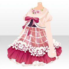 シャボン プリマヴェーラ|@games -アットゲームズ- Anime Outfits, Girl Outfits, Cute Outfits, Fashion Line, Cute Fashion, Chibi Girl Drawings, Cocoppa Play, Drawing Clothes, Princess Style