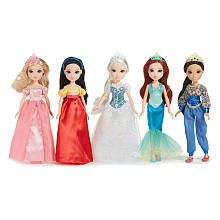 Storytime Princess Collection#153;  5 Pack Doll Set