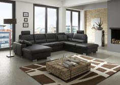 Home Design Ideas Living Room Sofa Design, Living Room Red, Living Room Furniture, Living Room Designs, Living Room Decor, Sofa Set Designs, Light Blue Sofa, White Leather Sofas, Corner Sofa Set