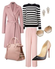 """""""Untitled #34"""" by kritika-bahadur on Polyvore featuring DKNY, Yves Saint Laurent, ESCADA, Burberry, Christian Louboutin, Marc by Marc Jacobs and Ben-Amun"""