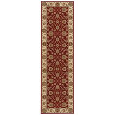 Nourison Persian Crown PC002 Red Rug