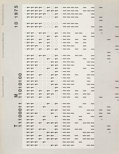 TM SGM RSI, Typografische Monatsblätter, issue 10, 1975. Cover designer: Heinrich Fleischhacker