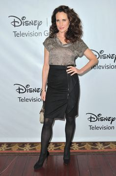 """Andie MacDowell Photos Photos - Actress Andie MacDowell arrives to the Disney ABC Television Group's """"TCA Winter Press Tour"""" on January 10, 2012 in Pasadena, California. - Disney ABC Television Group's """"TCA Winter Press Tour"""""""