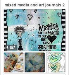New board ~ mixed media and art journals 2 https://www.pinterest.com/jasminfleur/mixed-media-and-art-journals-2/