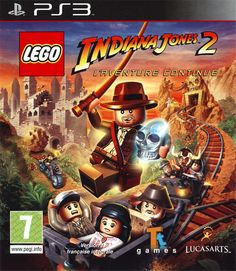 Télécharger Lego Indiana Jones 2 : L'Aventure Continue [PS3] | Mega-PS3 sur Rapidshare, fileserve, filesonic