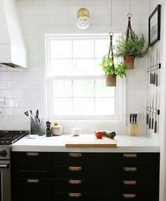 These flat file style kitchen drawers are making me feel like my kitchen is my office, which is a good thing cause it's where I'd like to do all my work. Snag the brass pulls from @Rejuvenation, link in profile. photo & style @chrislovesjulia via @rejuvenation . . . #handsomehome #dopehome #masculineinteriors #interiordesignideas #rustic #cottagestyle #vintage #diy #finditstyleit #ahomemadehome #dslooking #simplystyleyourspace #kitchengoals http://bit.ly/2dDSieo