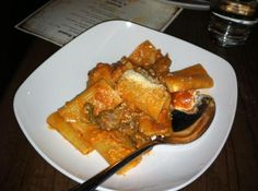 Rigatoni with sausage and tomatoes by Kathleen O'Malley | A photo of Davanti Enoteca
