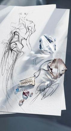 Yiqing Yin fashion sketch