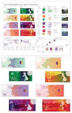 United Kingdom's new series of banknotes