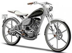Yamaha motorized bicycle