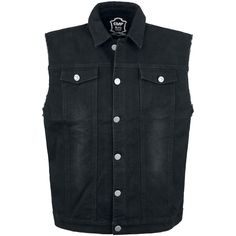 Denim Vest par Black Premium by EMP