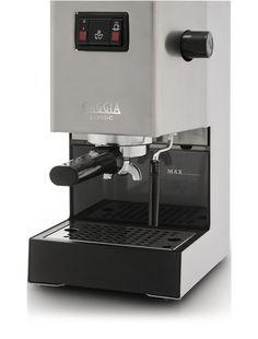 Gaggia Classic espresso machine. The cheapest, simple consumer machine that has professional grade parts on the inside.