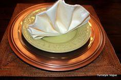 How To Fold Linen Napkins   turnstylevogue.com