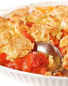 Tomato Cobbler Recip