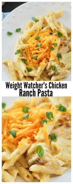 Weight Watchers Meals with Smartpoints - Dinner, Chicken and Desserts. Get the best ideas of dinners, lunches and desserts - weight watchers recipes with low SmartPoints to keep you on a healthy and delicious diet! Ww Recipes, Skinny Recipes, Cooking Recipes, Healthy Recipes, Recipies, Healthy Foods, Soup Recipes, Low Fat Pasta Recipes, Low Cal Chicken Recipes