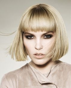 Hooker & Young Short Blonde Hairstyles
