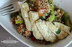 Warm Quinoa-Chicken Salad #chicken #quinoa #salad #recipe #foodblog #foodblogger #nomnomnom #foodporn #fitness #protein #thisismytake #recipes