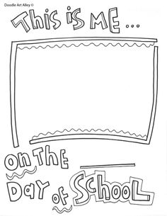 Free Printables for the End of the School Year from Classroom Doodles. Your stu… Free Printables for the End of the School Year from Classroom Doodles. Your students will LOVE these! First Day Of School Activities, End Of Year Activities, Kindergarten First Day, Beginning Of The School Year, New School Year, Daycare School, Preschool Memory Book, Preschool Bulletin, School Coloring Pages