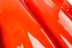 Red Pearl ITALIAN Glossy Patent Lack Leather Calf Cow Hide Scraps Scrap Square Pieces Swatches Samples  5x5-20x20in.