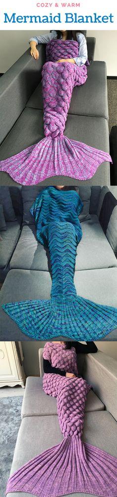 Mermaid Blanket for Women |Up to 75% off| Sammydress.com | #BlackFriday