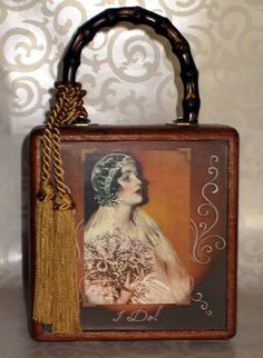 I Do Cigar Box Purse by onceuponahanky on Etsy, $20.00