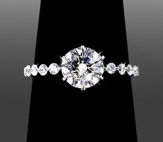 .65ct Dainty Setting / 14k White Gold  Gorgeous!