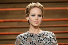 Hollywood star Jennifer Lawrence hits out against film industry sexism and pay inequality in a blunt essay for online feminist newsletter Lenny. Jennifer Lawrence, Bold Eyebrows, Larry David, Wavy Bobs, Vanity Fair Oscar Party, Hollywood Star, Hollywood California, West Hollywood, Old Actress