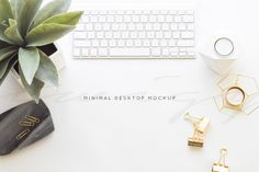 Minimal Collection   desktop mockup - Product Mockups - 1