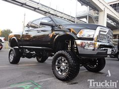 lifted ram trucks images | 2010 Sema Show Dodge Ram 2500 Mega Cab