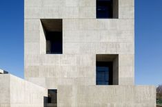 Image 16 of 22 from gallery of Innovation Center UC - Anacleto Angelini / Alejandro Aravena Concrete Architecture, Architecture Art Design, Architecture Details, Innovation Centre, Ludwig Mies Van Der Rohe, Concrete Structure, Built Environment, Floor Plans, Gallery