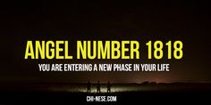 Angel number 1818 and its spiritual meaning #angelnumbers #angelnumber