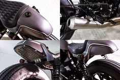 Slate Hammer Harley Cafe Racer ~ Return of the Cafe Racers