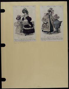 Mode. [XIXe siècle]. 1830 Manteau, cape