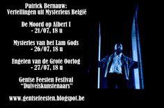 Mysterieus België: Patrick Bernauw met Vertellingen uit Mysterieus Be...