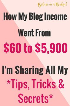 This is my sixth blog income report working full time. since I've started blogging full time, I've been working hard to make extra money and increase my income. I'm sharing how my blog has turned into my best side hustle yet and helps me earn a full time