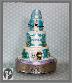 Roller derby kitty cake for Bad JuJu Cake by Not Your Ordinary
