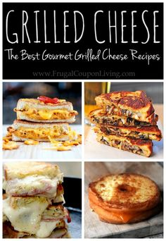 Love a good gourmet sandwhich? Check out some of these Best Gourmet Grilled Cheese Recipes from bloggers around the web.