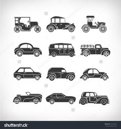 Image result for classic car icons