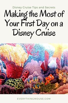 Do's and Don'ts for Your First Day Onboard a Disney Cruise Ship. You want to make the most of every minute of your Disney cruise vacation. Here is our guide of what things you should, and shouldn't do, when you get onboard your Disney cruise ship. Packing For A Cruise, Cruise Travel, Cruise Vacation, Italy Vacation, Europe Packing, Traveling Europe, Cruise Port, Disney Travel, Vacation Deals