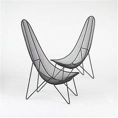 Sol Bloom, Scoop Chairs for New Dimensions Furniture, 1950.