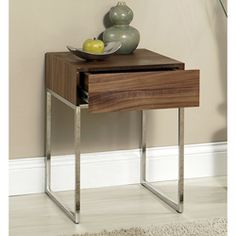 Abbyson Living Verona Walnut End Table $175.49